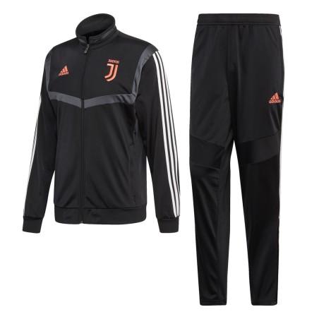 Juventus tracksuit bench black 2019/20 Adidas