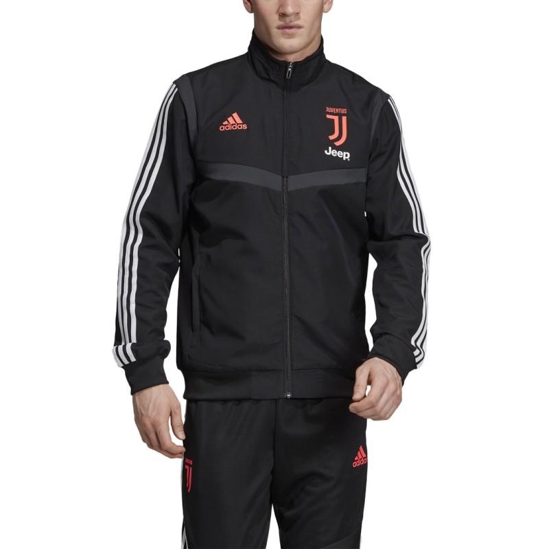 Juventus jacke vertretung team schwarz 2019/20