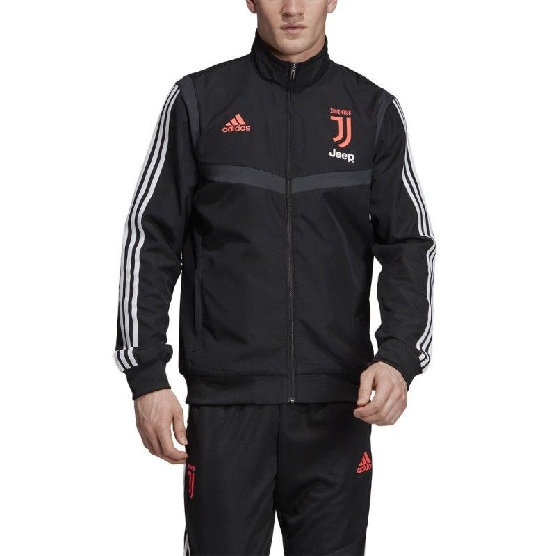 Juventus jacket representing team black 2019/20