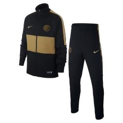 Inter tuta rappresentanza bambino junior nera 2019/20 Nike