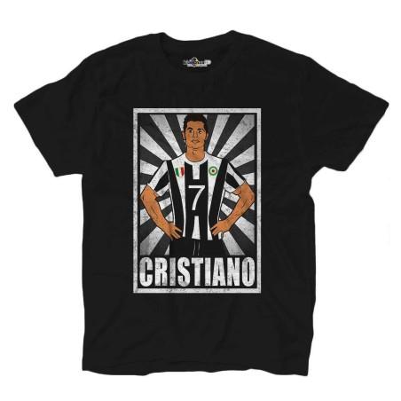 T-shirt Chrétien vintage Légende CR7 Grunge