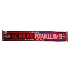 Scarf Milan vs Barcelona UCL Champions League 2011/12