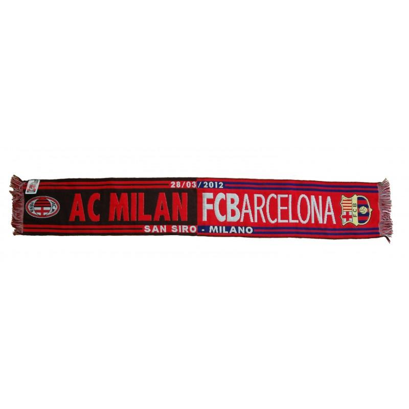 Foulard Milan vs Barcelone UCL Champions League 2011/12