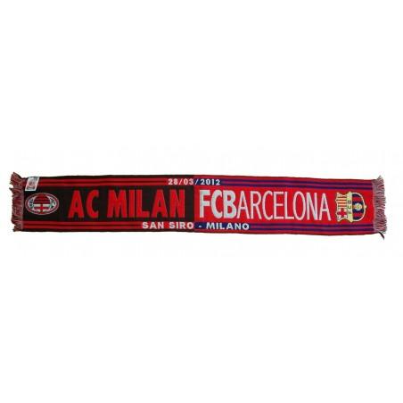 Scarf Milan vs Barcelona UCL Champions League 2011/12