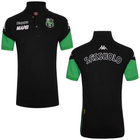 Sassuolo fußball-polo-shirt Angat schwarz-grün Kappa