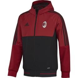 Milan giacca rappresentanza cappuccio 2017/18 Adidas