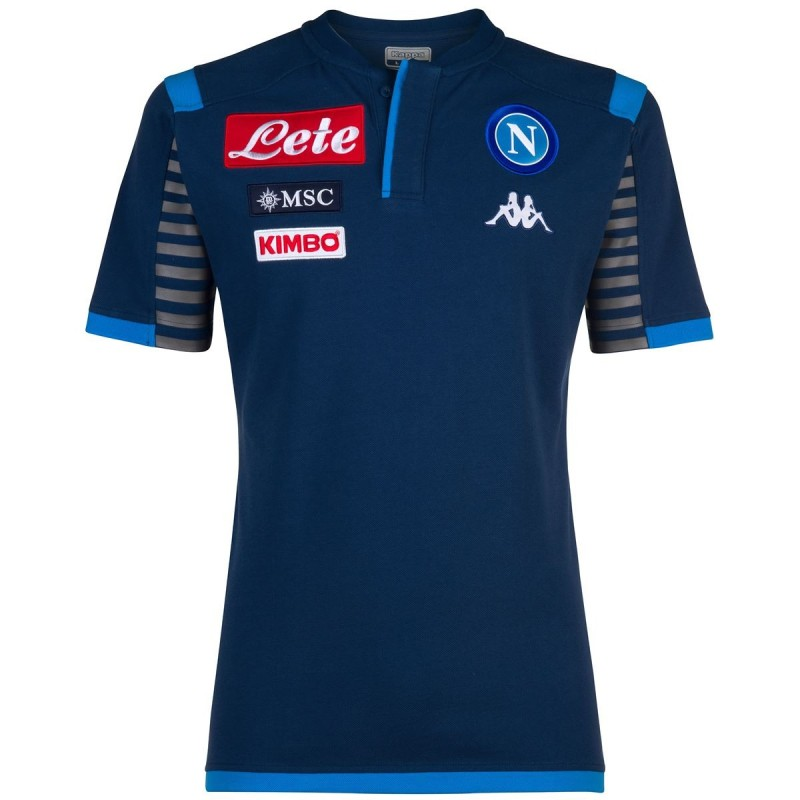 Neapel-polo-team Angat 3 blau 2019/20 Kappa