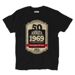 T-shirt 50th birthday born in 1969
