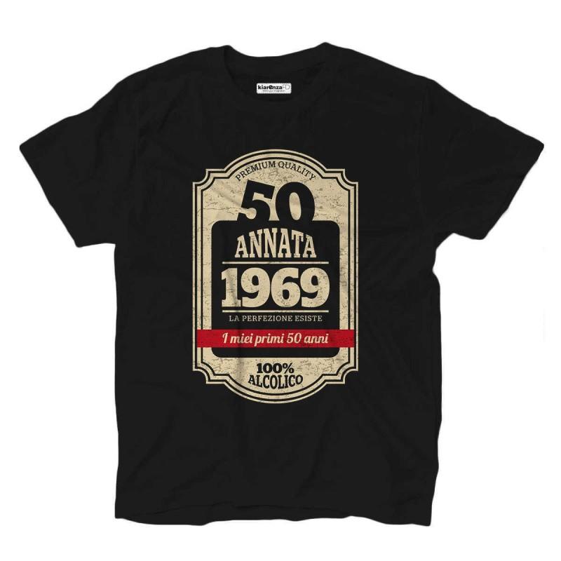 T-shirt 50th birthday born in 1969