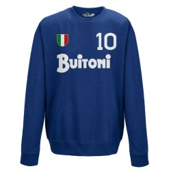 Naples sweat-shirt 10 Maradona vintage crew neck scudetto en 1987/88