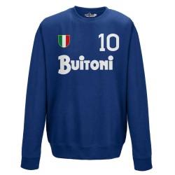 Naples sweatshirt 10 Maradona vintage crew neck 1987/88