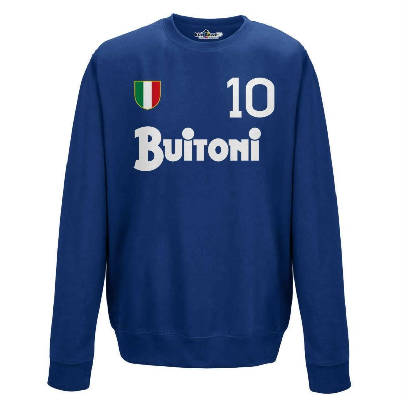 Napoli Sweatshirt 10 Maradona Vintage Rundhalsausschnitt 1987/88