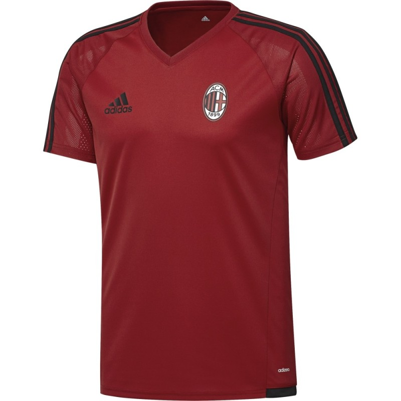 Milan training jersey training red 2017/18 Adidas