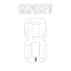Juventus 8 Ramsey name and number home shirt 2019/20