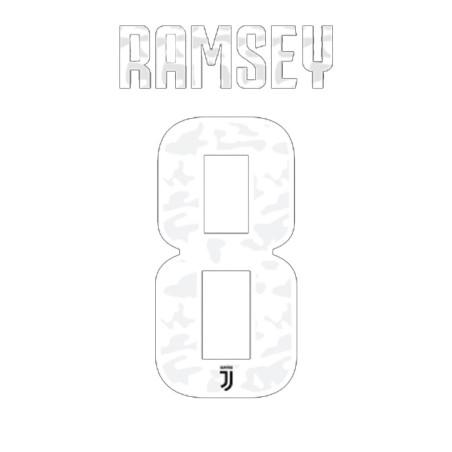 Juventus 8 Ramsey name und nummer auf trikot home 2019/20