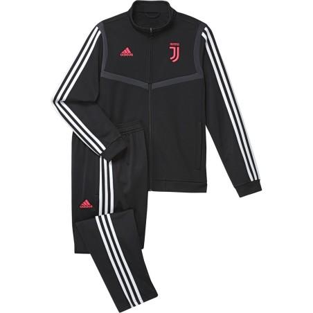 Juventus tuta panchina nera bambino 2019/20 Adidas