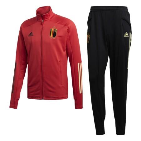 Belgique survêtement banc d'entraînement 2020/21 Adidas
