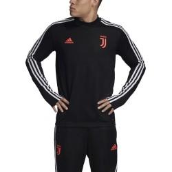 La Juventus sudadera de entrenamiento negro 2019/20 Adidas