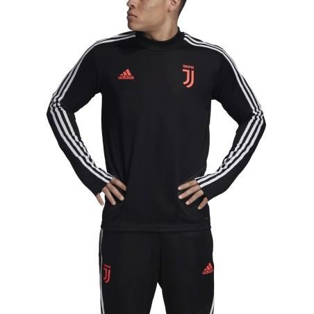 Juventus training sweatshirt black 2019/20 Adidas