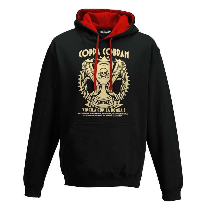 Hooded sweatshirt Coppa Cobram Win it with the bomb