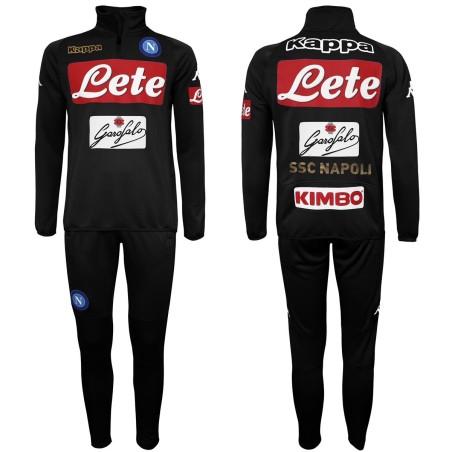 Naples Wistono costume d'entraînement noir 2016/17 Kappa
