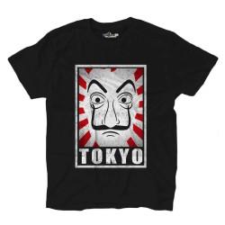 Camiseta de Tokio serie de tv de la Máscara de la profesora