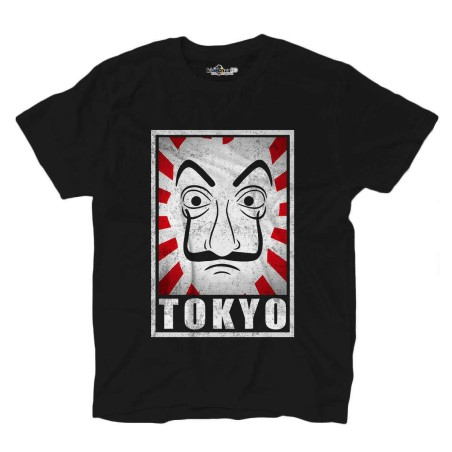 T-shirt Tokio tv series the Mask the professor