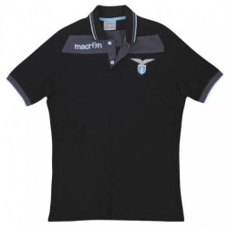 SS Lazio polo team black Macron