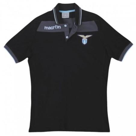 SS Lazio polo team schwarze Macron