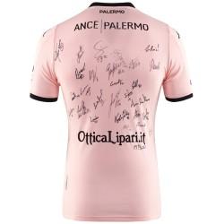 Palermo trikot nummeriert rennen Kombat home 2019/20 unterzeichnet von den spielern Kappa