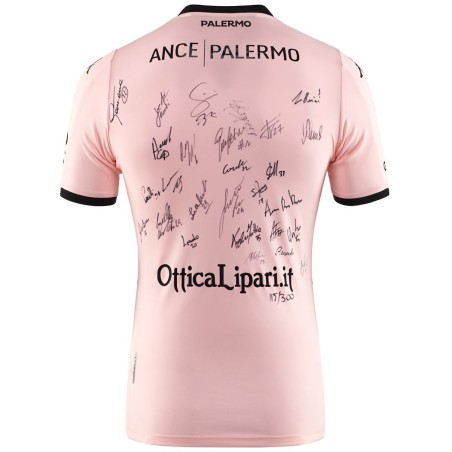 Palermo jersey numbered race Kombat home 2019/20 signed by the players Kappa