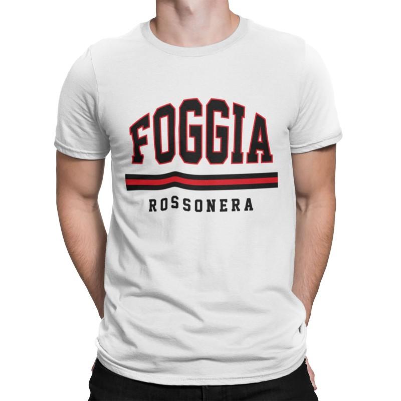 Foggia t-shirt tifosi rosso neri Calcio ultras Dauni