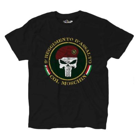 T-shirt Mit dem seines überaus anstrengenden trainings Punisher 9. Regiment angriff