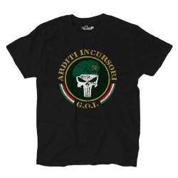 T-Shirt Militär Army Comsubin Goi Italia
