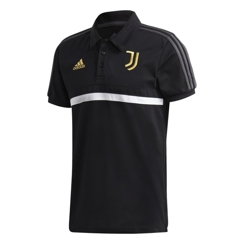 Juventus polo 3S squadra nera 2020/21 Adidas