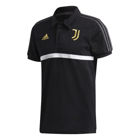 Juventus polo 3S équipe noire 2020/21 Adidas