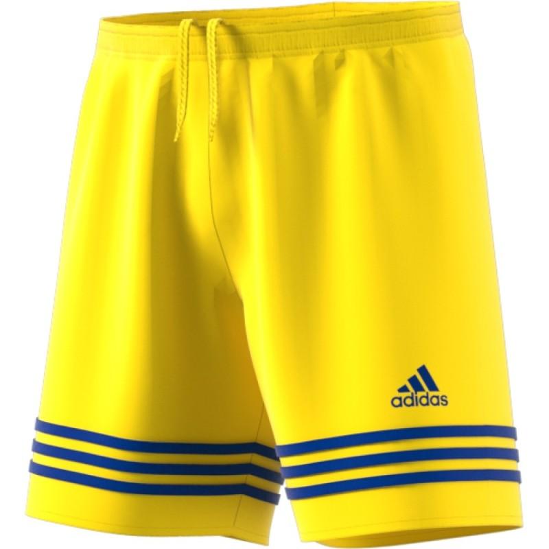 Adidas pantaloncini Entrada 14 giallo