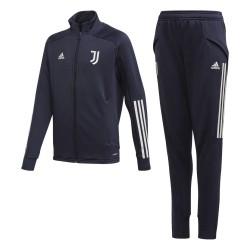 Juventus tuta panchina nera bambino 2020/21 Adidas