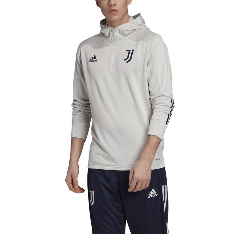 Juventus Hooded Sweatshirt Track Hood 2020/21 Adidas