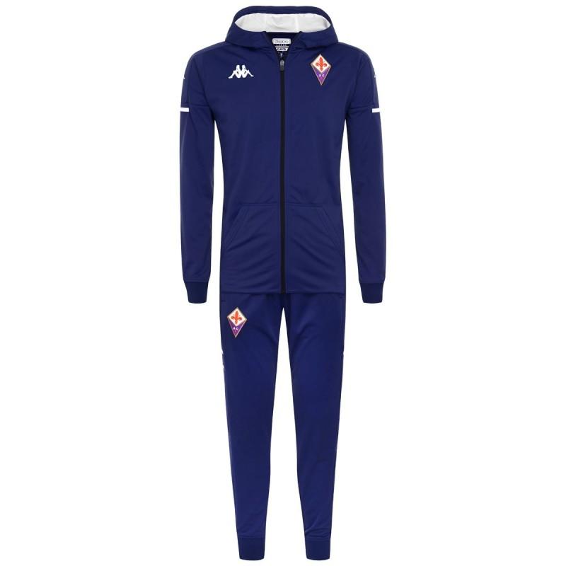 Fiorentina blau Präsentation Trainingsanzug 2020/21 Kappa