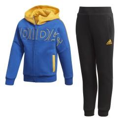 Adidas tuta bambino FZ blu