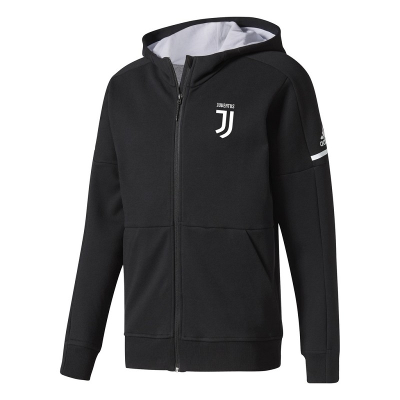 Juventus Hoodie Anthem Z.N.E. Black 2017/18 Adidas