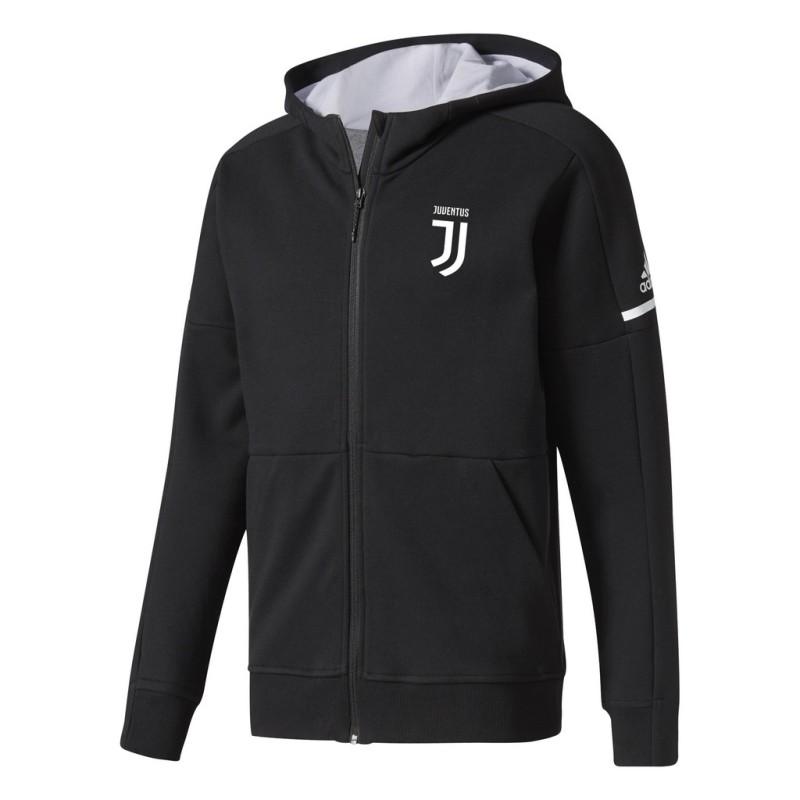 Juventus Sweatshirt Anthem Z.N.E. schwarz Adidas 2017/18