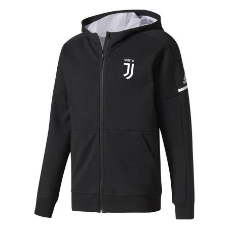 Juventus felpa Anthem nera 2017/18 Adidas