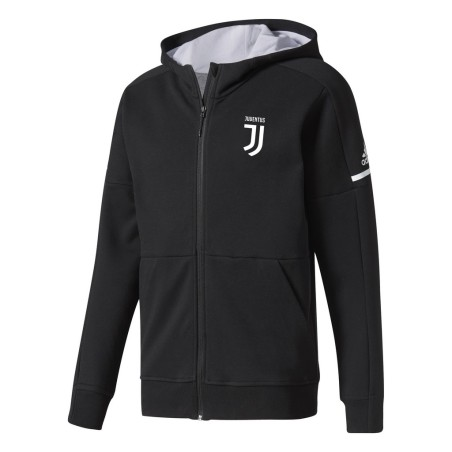 Juventus sweat-shirt Anthem noir Adidas 2017/18