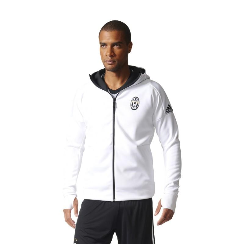 Juventus FC Anthem jacket bianca 2016/17 Adidas