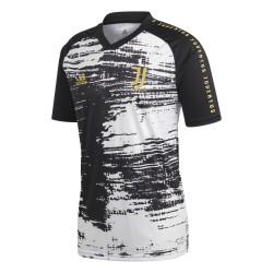 Juventus Trikot Pre Match Weiß Schwarz 2019/20 Adidas