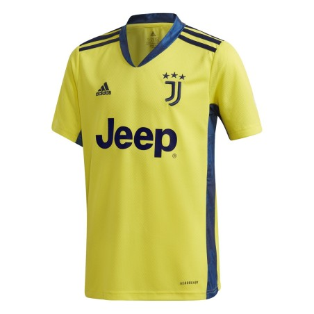 Juventus gelbes Torhüter Trikot Kind 2020/21 Adidas