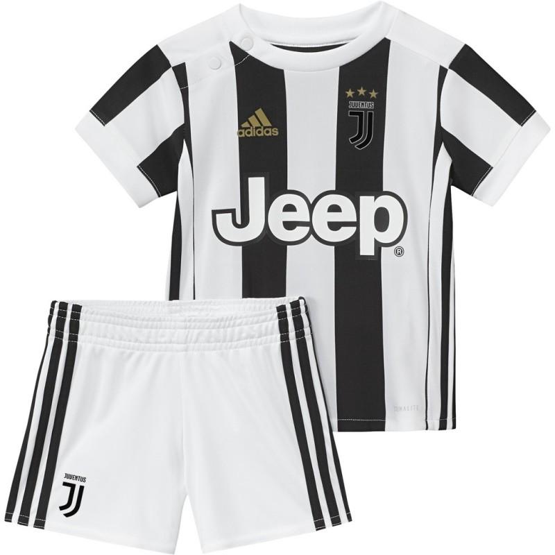 brand new 63c47 04032 Juventus baby home kit 2017/18 Adidas