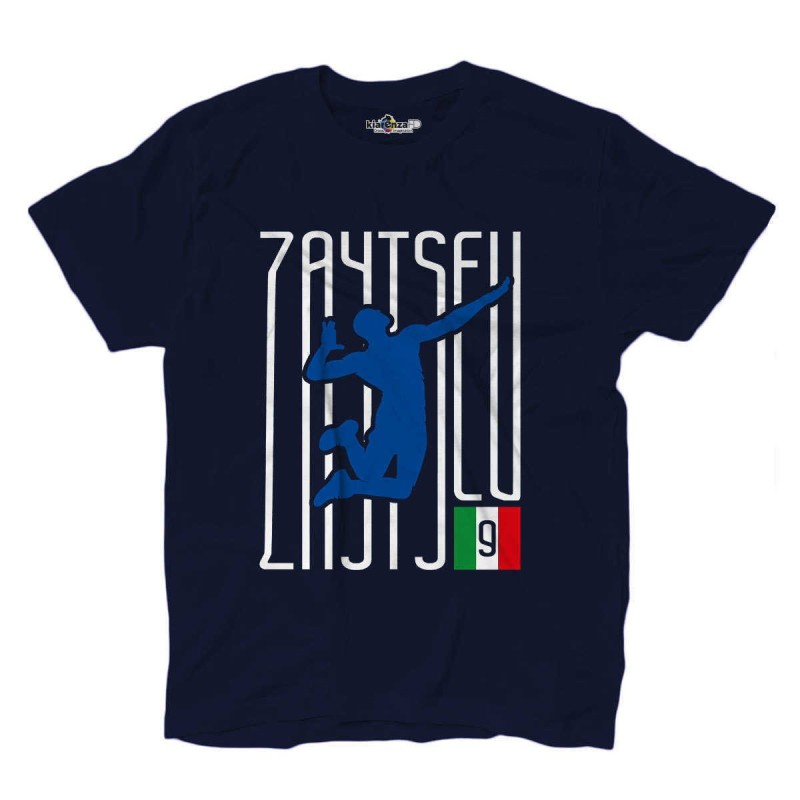 T-Shirt Volley Ivan Lo Zar Zaytsev Italy Volleyball